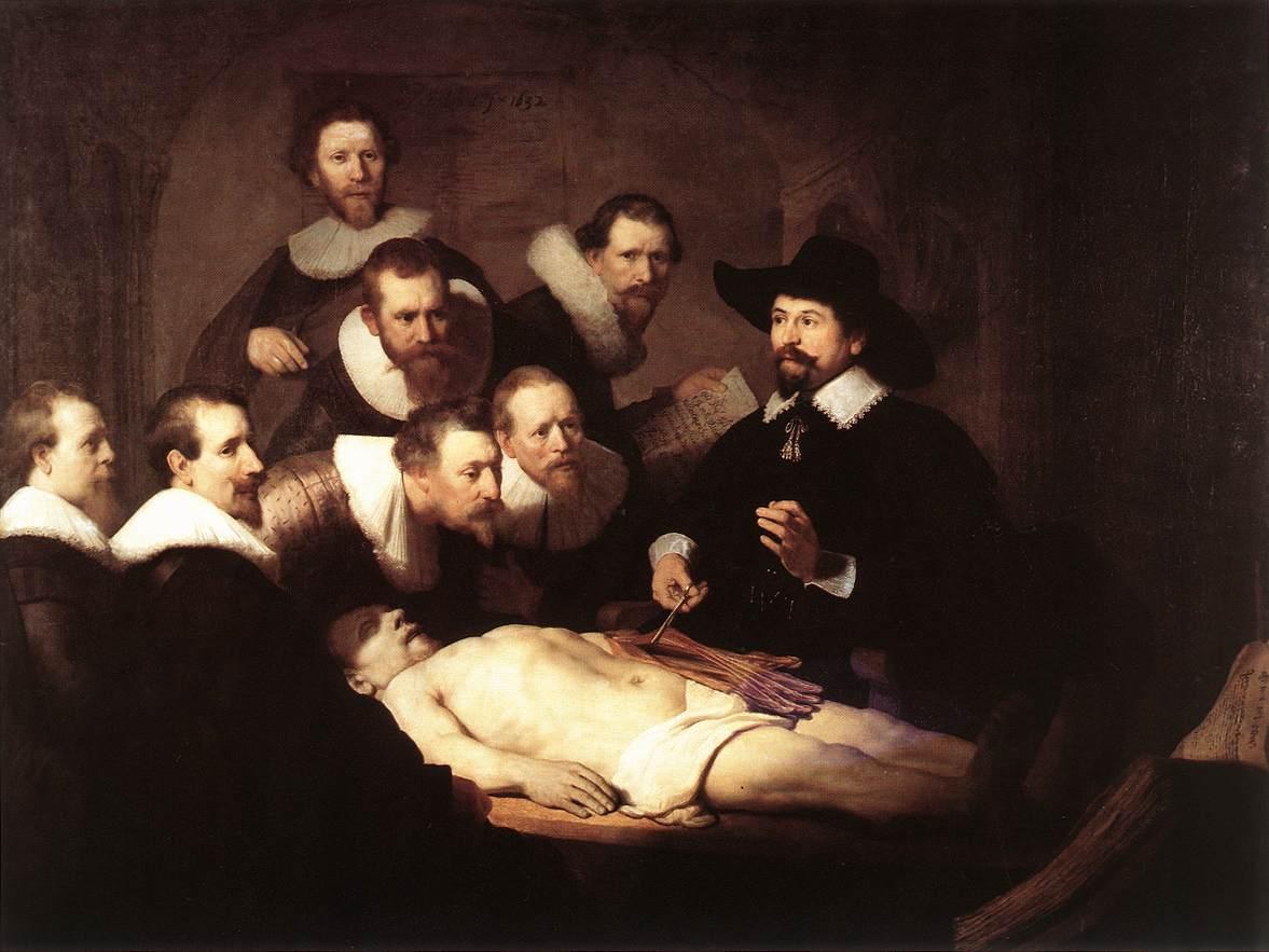 La lección de anatomía del Doctor Tulp. El rincón de la Ciencia
